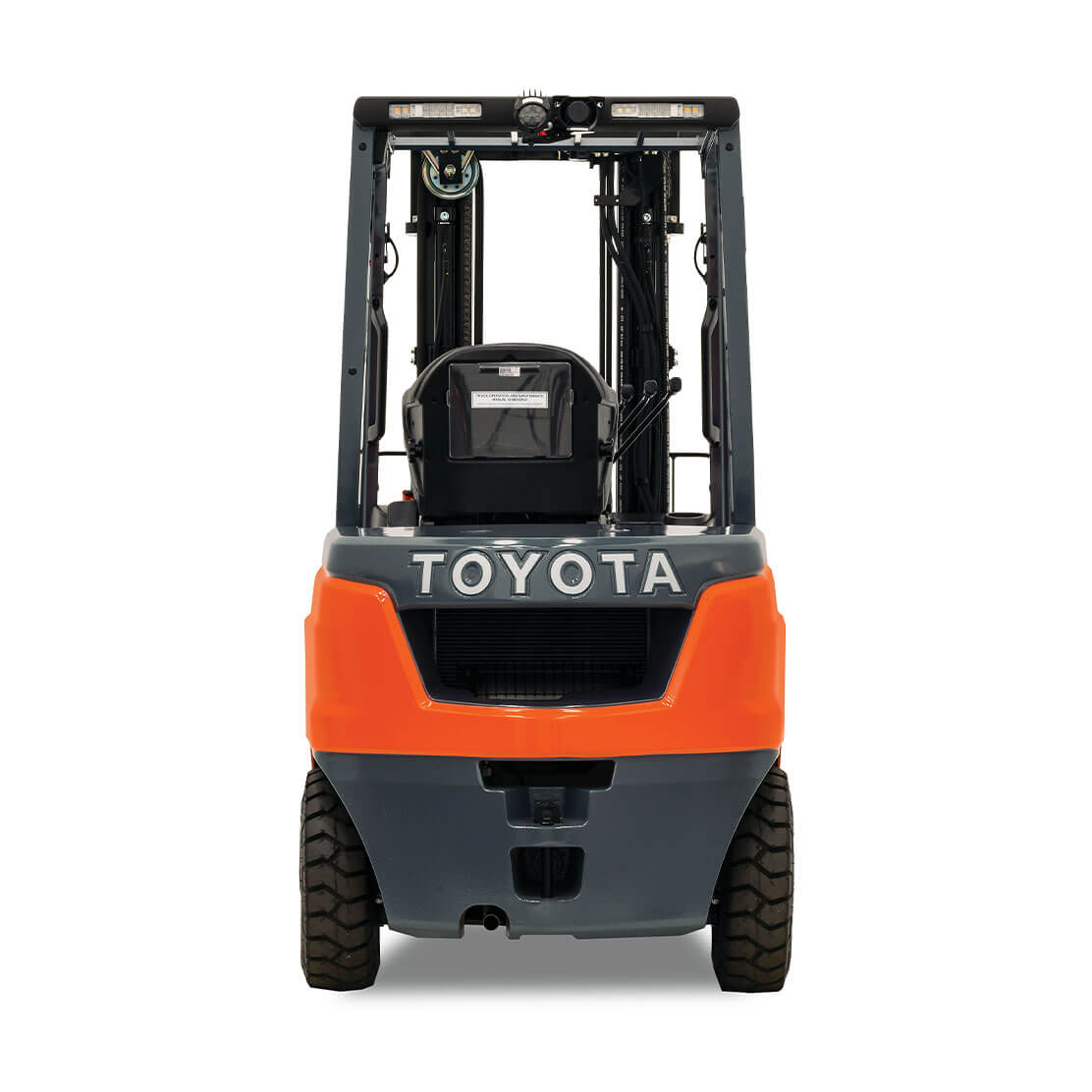Core IC Pneumatic Forklift rear view