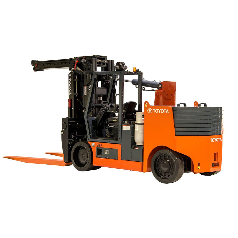 High-Capacity Adjustable Wheelbase Forklift