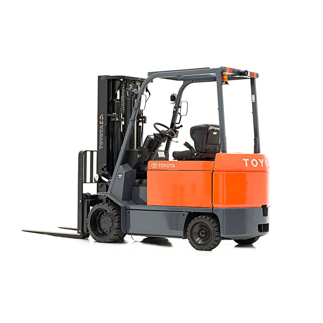 Large Electric Forklift side view