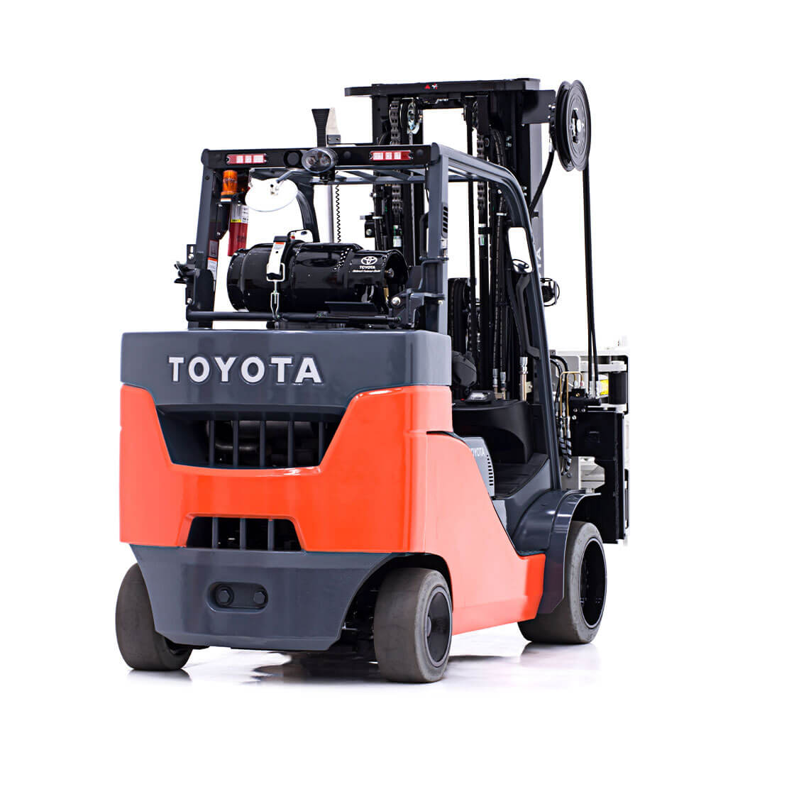 Paper Roll Special Forklift side view