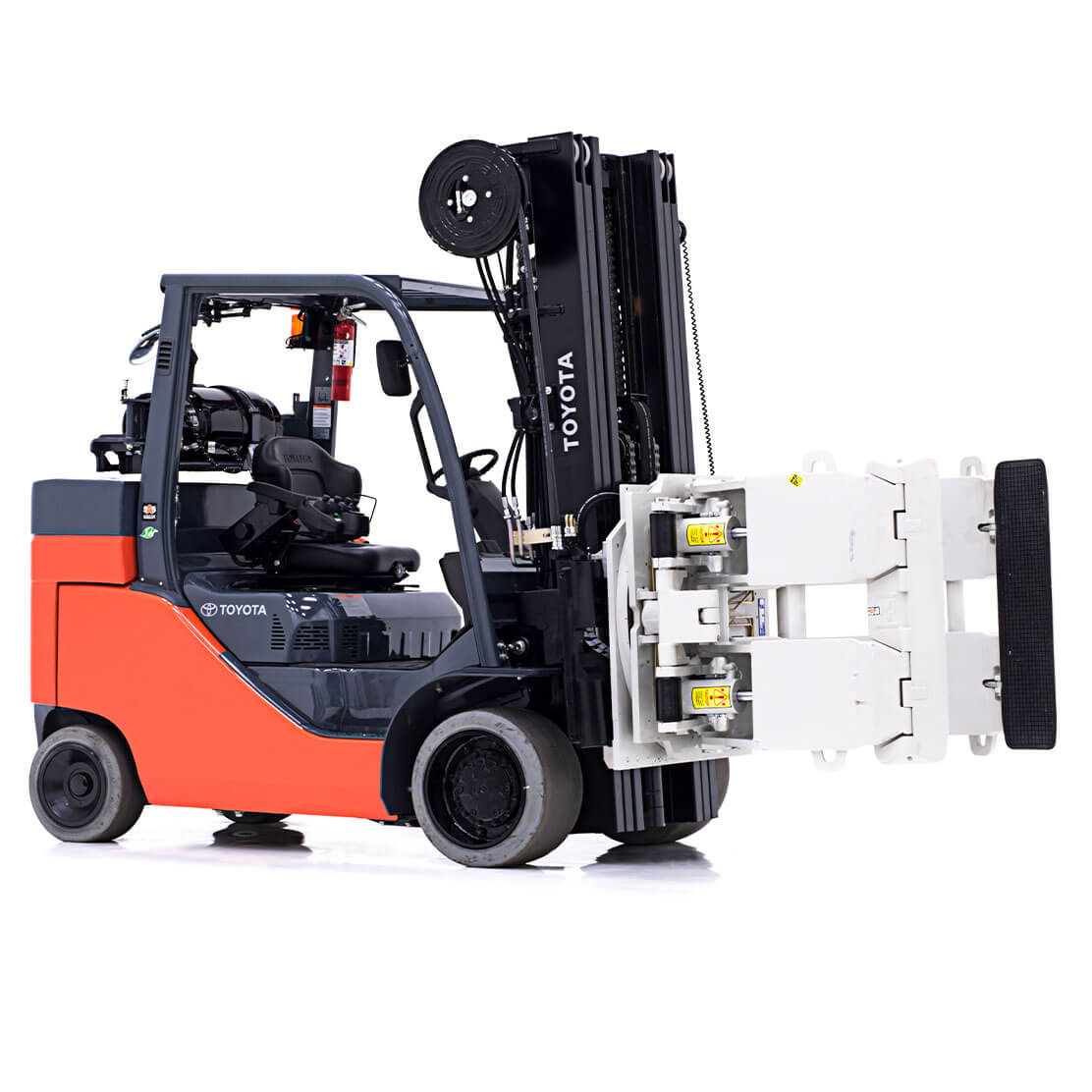 Paper Roll special forklift side view 2