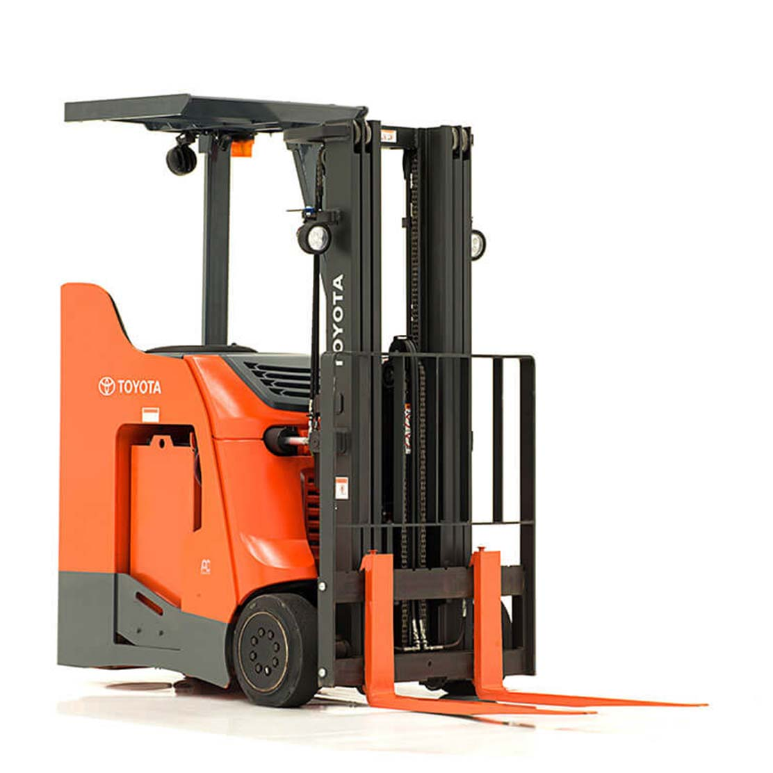 Stand-Up Rider Forklift side view