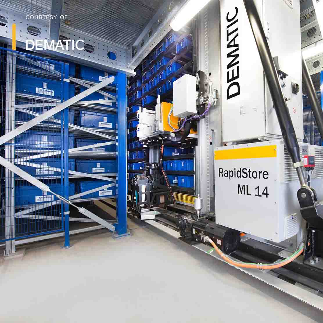 10 3 058 Rapidstore As Rs Systems - About Dematic - Shoppa's Material Handling